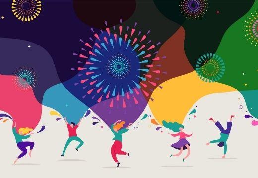 Festive Around The World Email Header 520x360